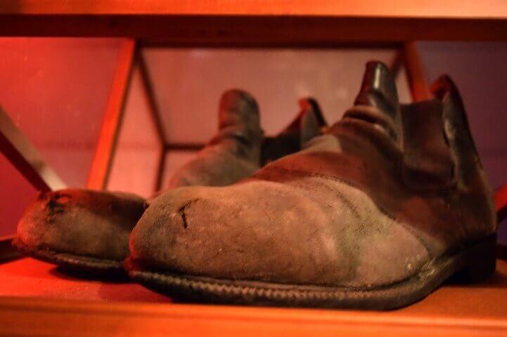 Haunted Artifacts - Hamilton's Custom House Boots - Ghost Walks Gift Shop