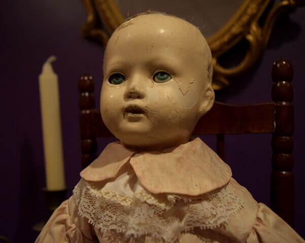 Haunted Doll - Lizzie the Doll - Ghost Walks Gift Shop