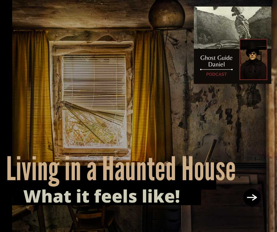 What it's Like being in a Haunted House featuring the Billotti Story   Ghost Guide Daniel
