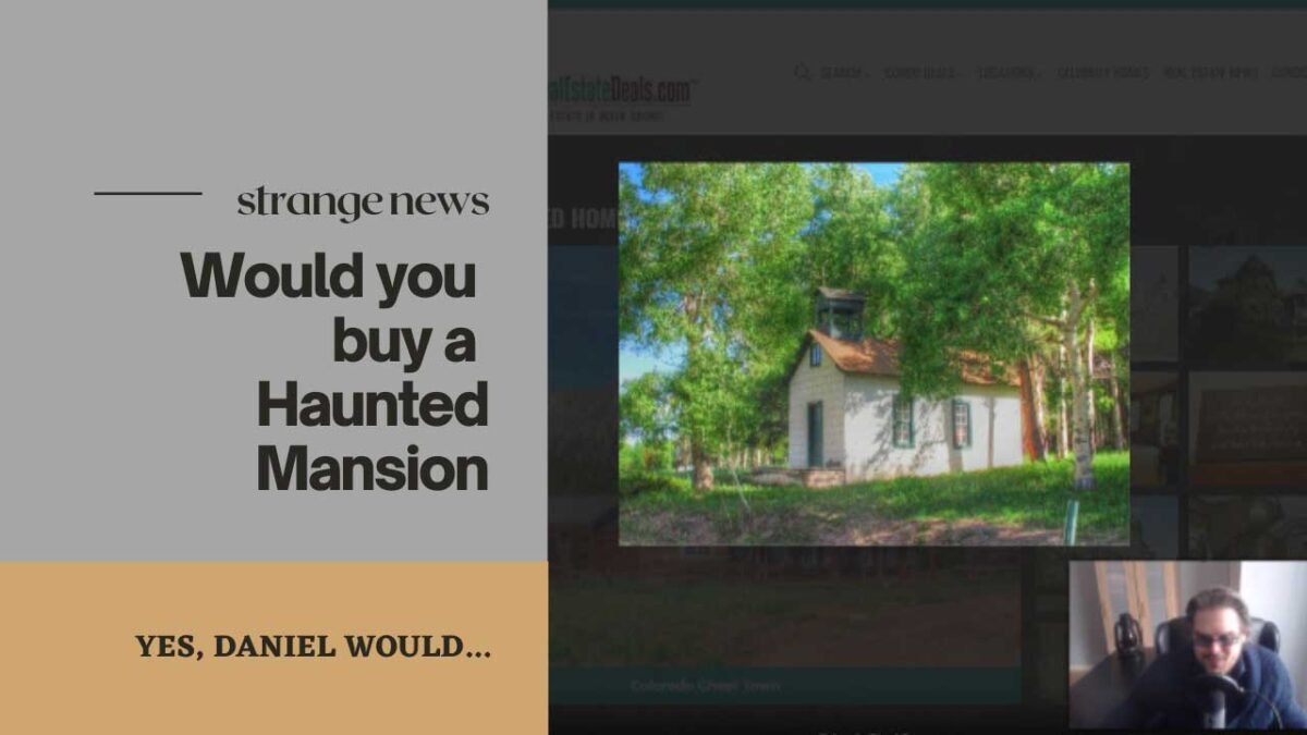 Haunted Mansions, would you buy and live in one