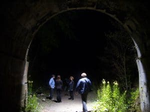 Blue Ghost Tunnel - Paranormal Investigation (Creepy Canada)