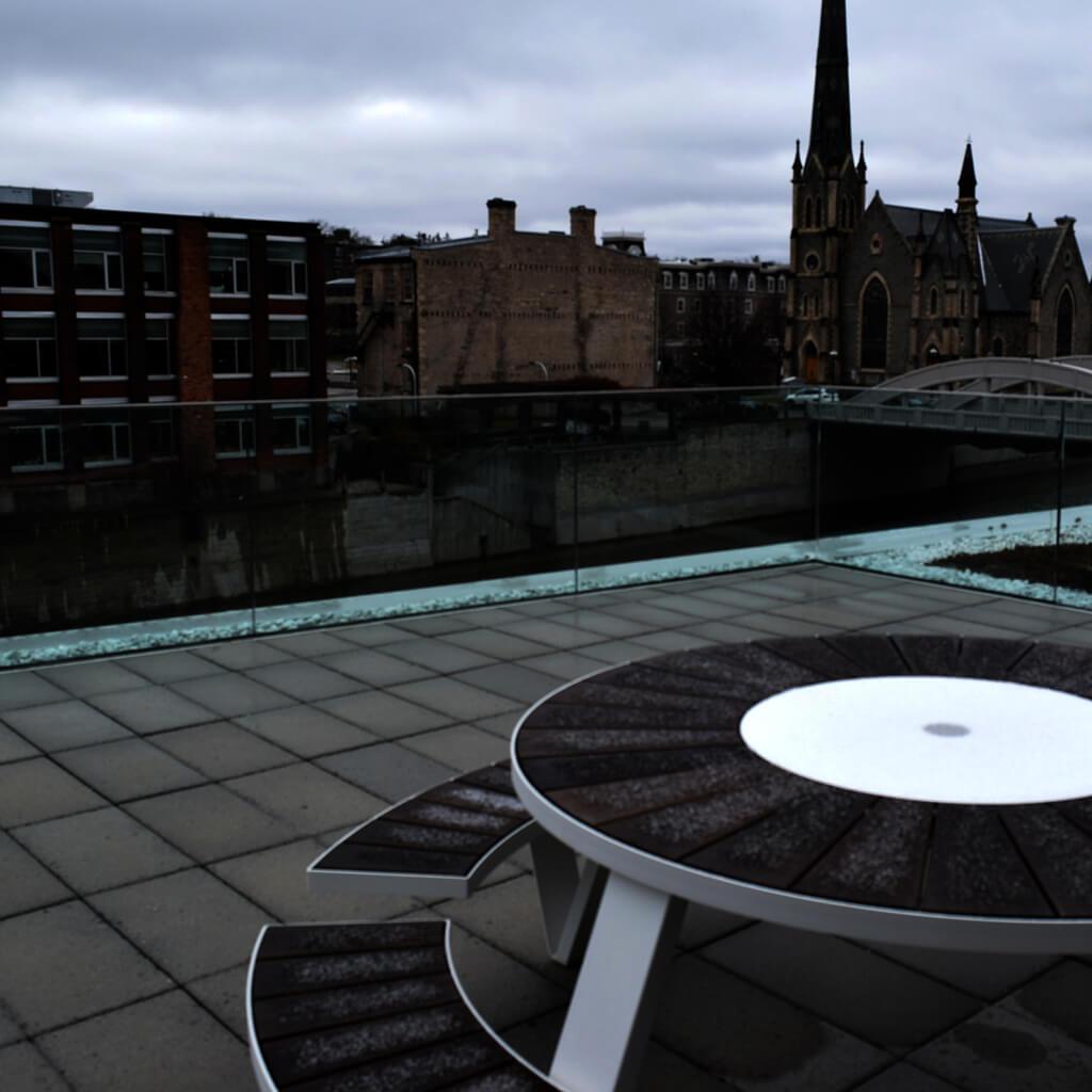 Cambridge Post - balcony view
