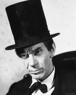 Raymond Massey as Abraham Lincoln