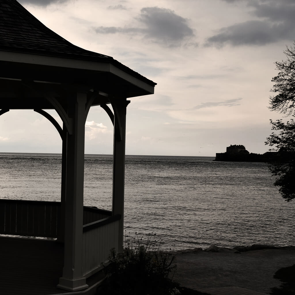 Niagara's Dark History Tour - Gazebo by the Lake