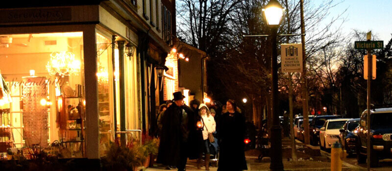 Niagara on the Lake Ghost Walks - Contact Us