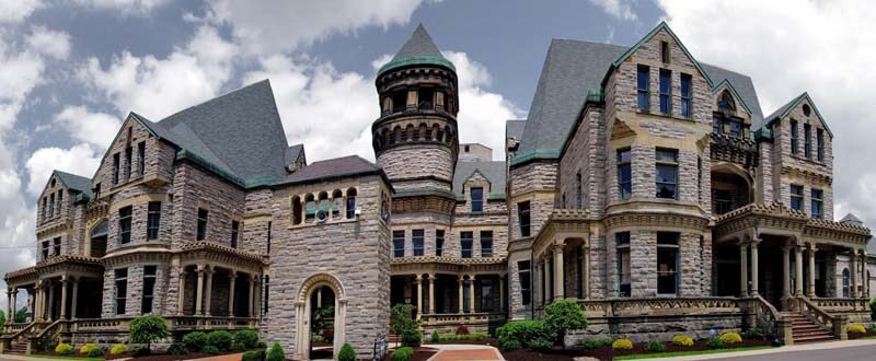 Mansfield Reformatory Ohio State - current day building