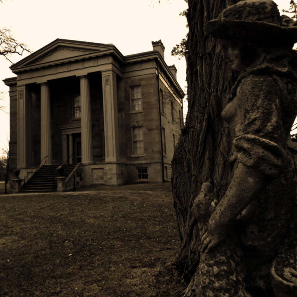Ruthven Cayuga - Thompson Mansion - Ghost Walks