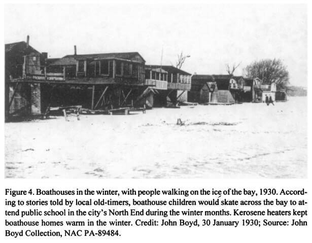 Hamilton Harbour History - The Old Shanty Town