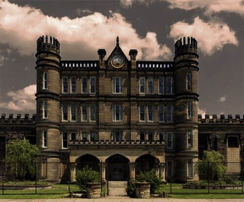 West Virginia Penitentiary - Administration Building